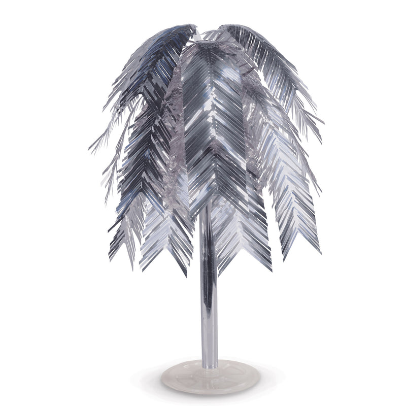 Metallic Cascade Centerpiece, silver by Beistle - 20's Theme Decorations