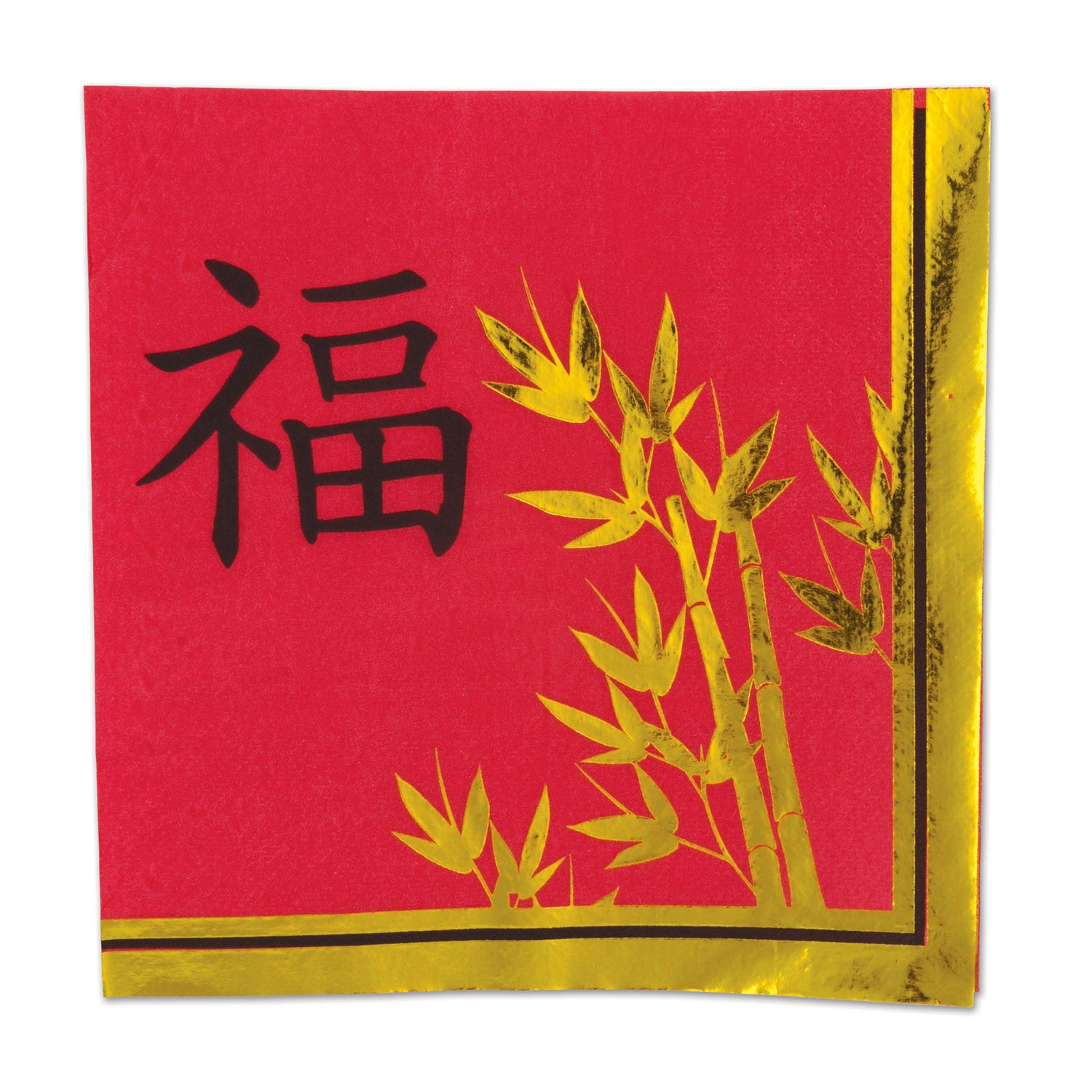 Asian Luncheon Napkins (16/Pkg) by Beistle - Asian Theme Decorations