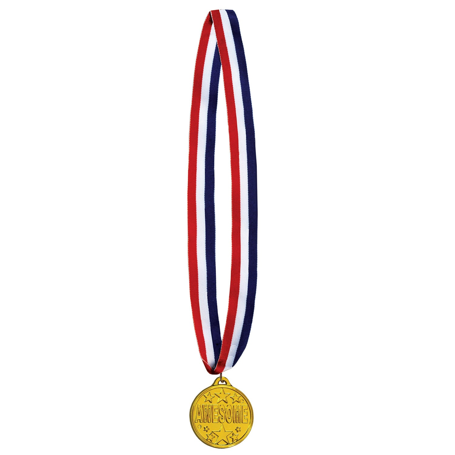 Awesome Medal w/Ribbon by Beistle - Sports Theme Decorations