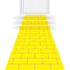 Yellow Brick Runner by Beistle - Princess Theme Decorations