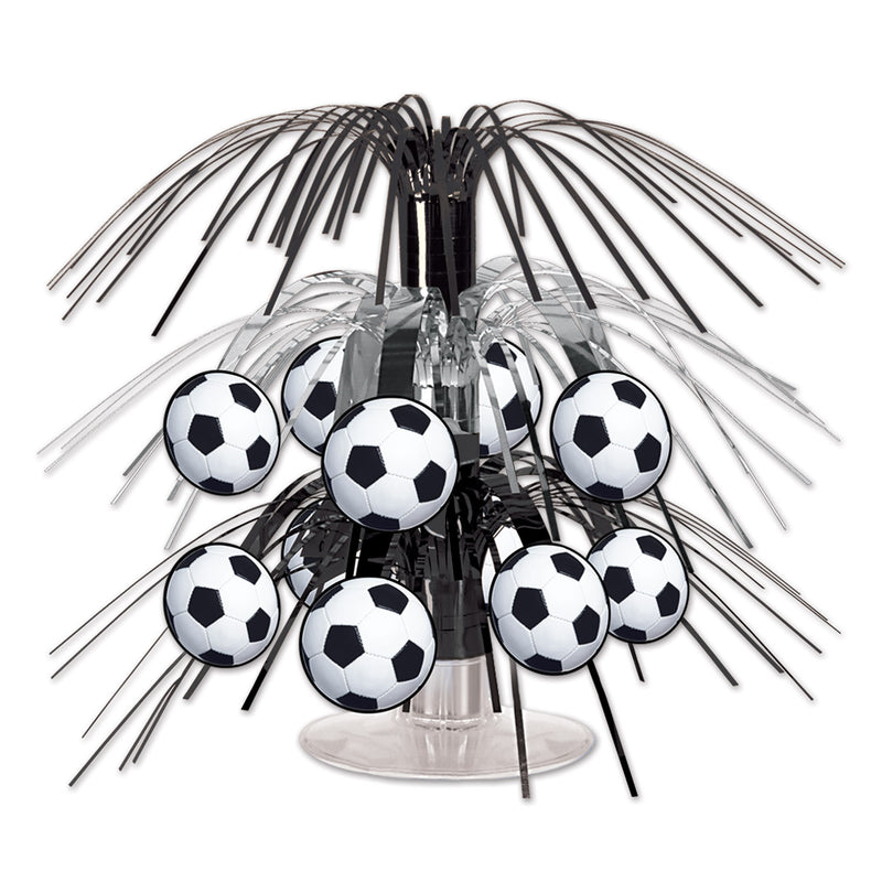 Soccer Ball Mini Cascade Centerpiece by Beistle - Soccer Theme Decorations