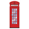 Jointed Phone Box by Beistle - British Theme Decorations