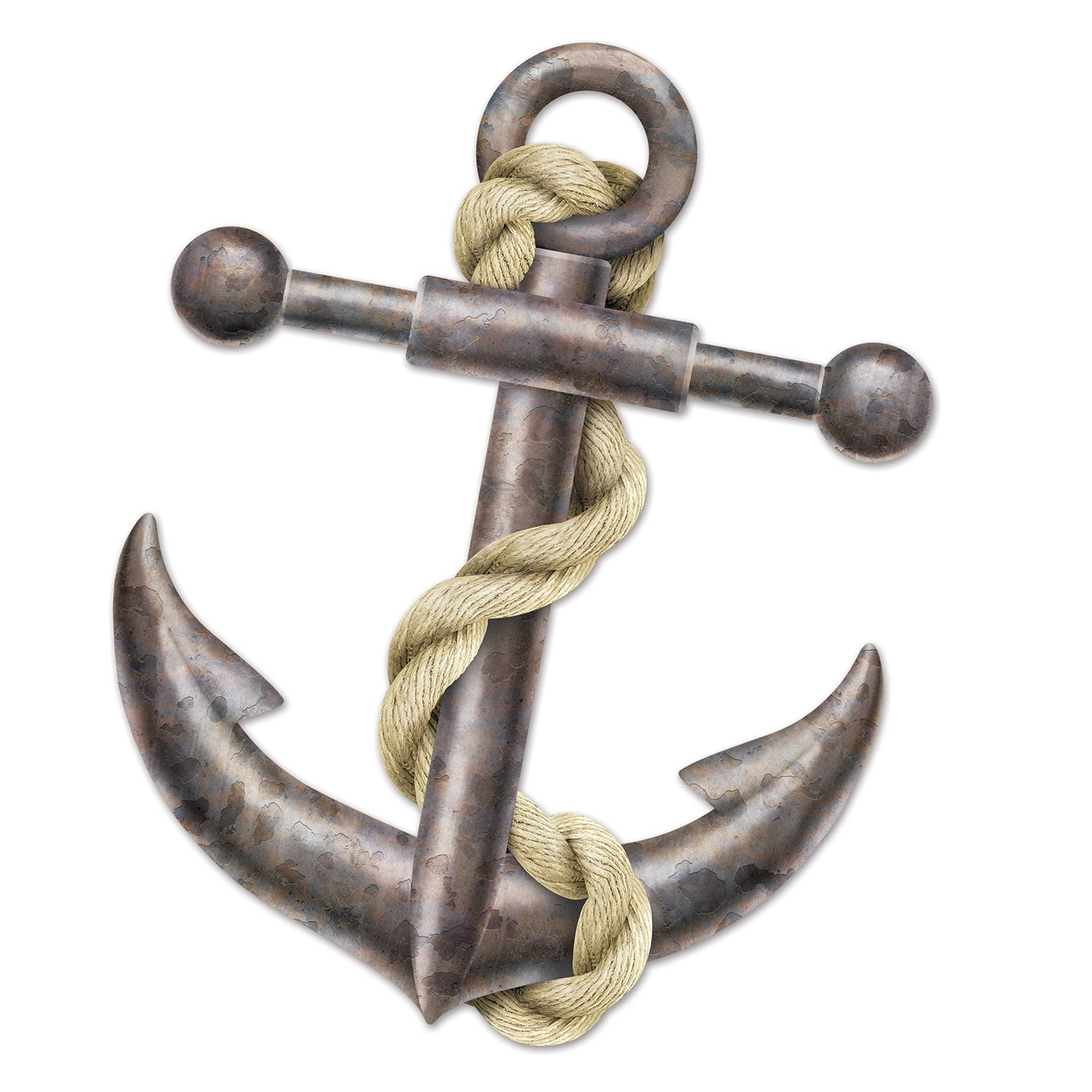 Jointed Anchor by Beistle - Nautical Theme Decorations