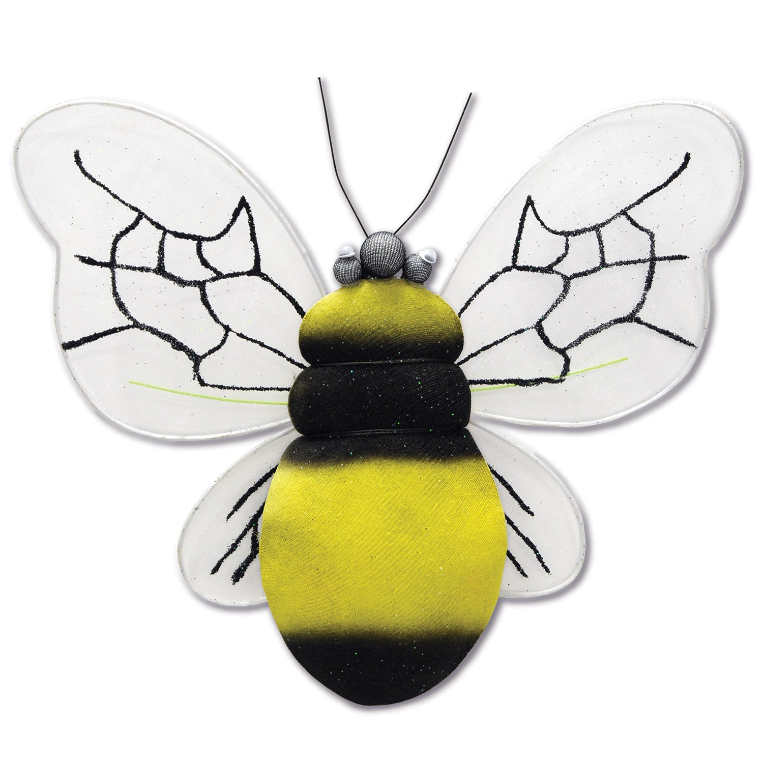 Nylon Bumblebee by Beistle - Spring/Summer Theme Decorations