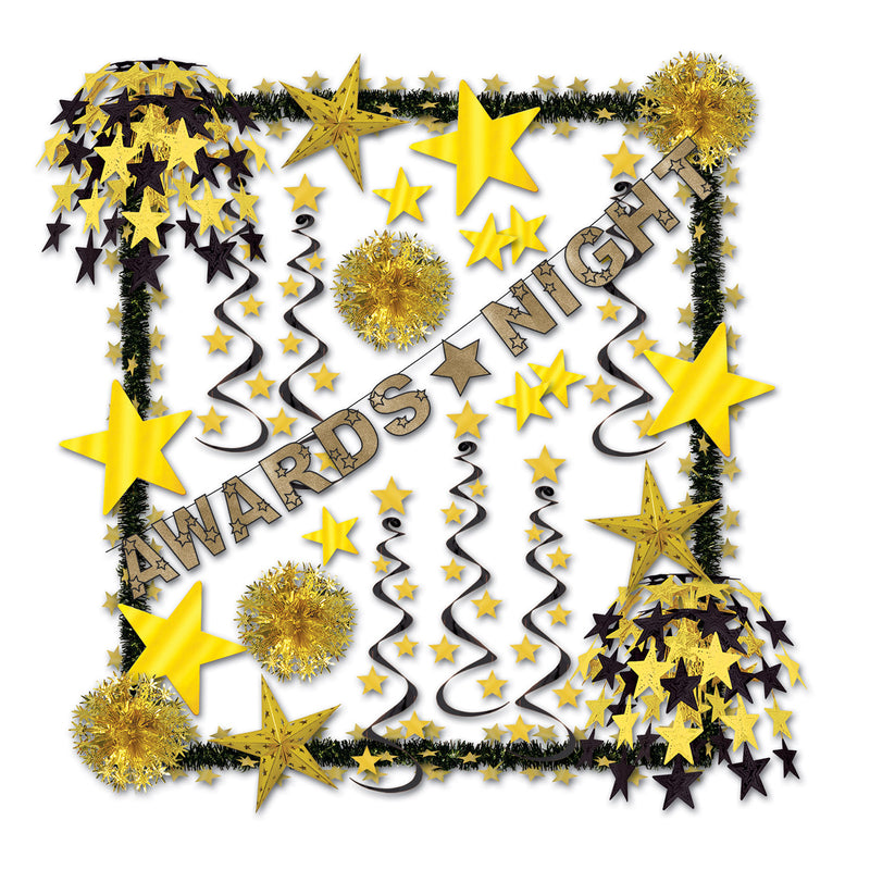 Awards Night Reflections Decorating Kit by Beistle - Awards Night Theme Decorations
