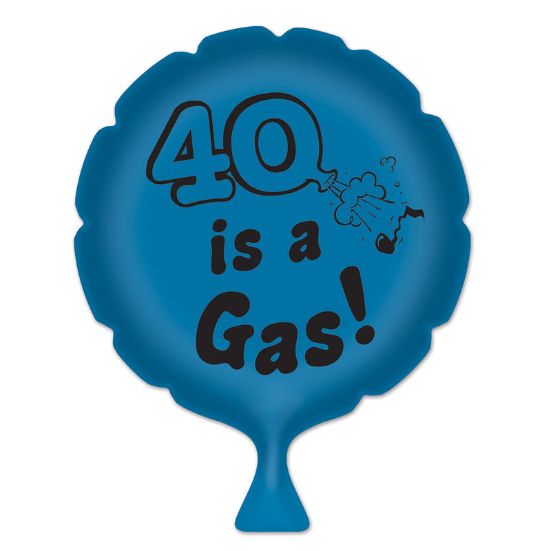 40 Is A Gas! Whoopee Cushion by Beistle - 40th Birthday Party Decorations
