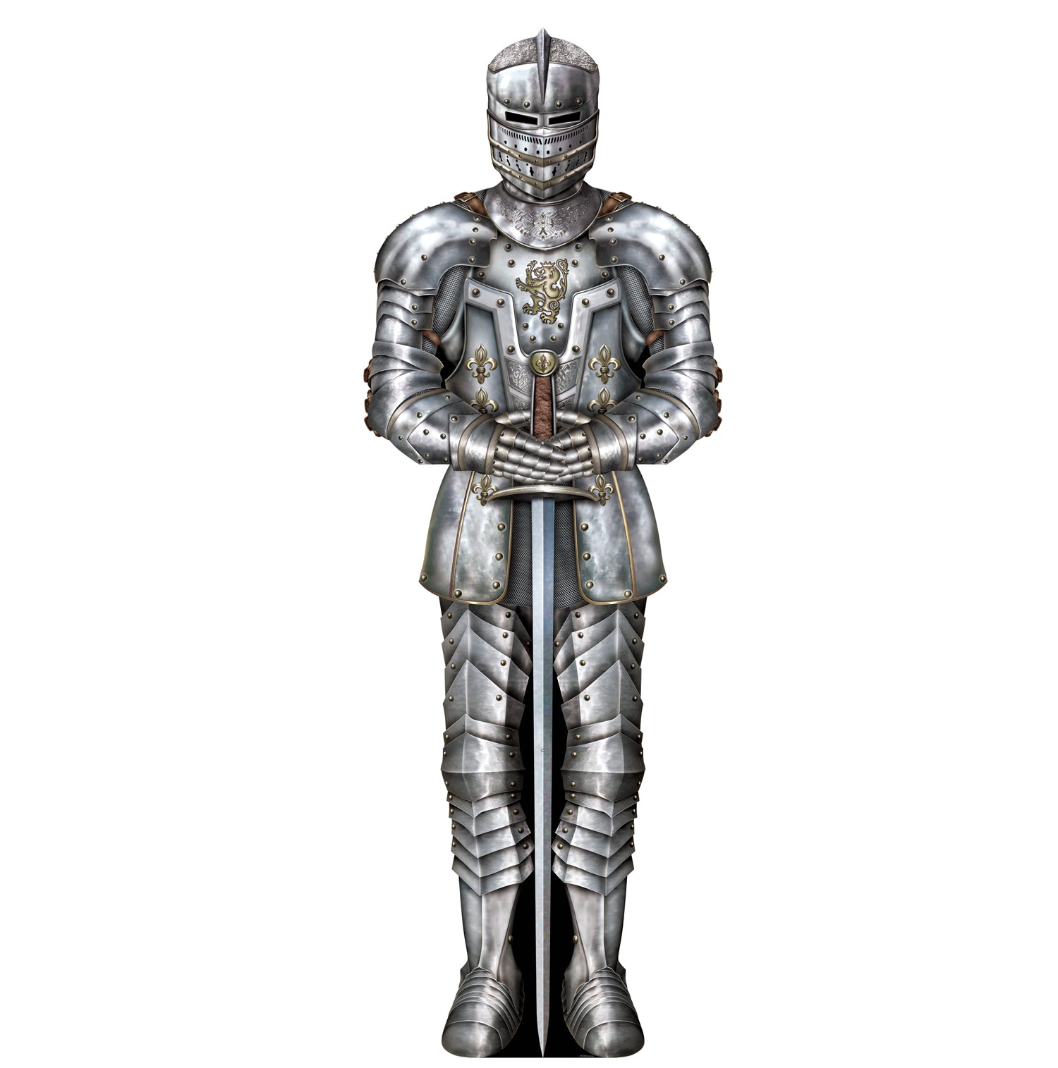 Suit Of Armor Cutout by Beistle - Medieval Theme Decorations