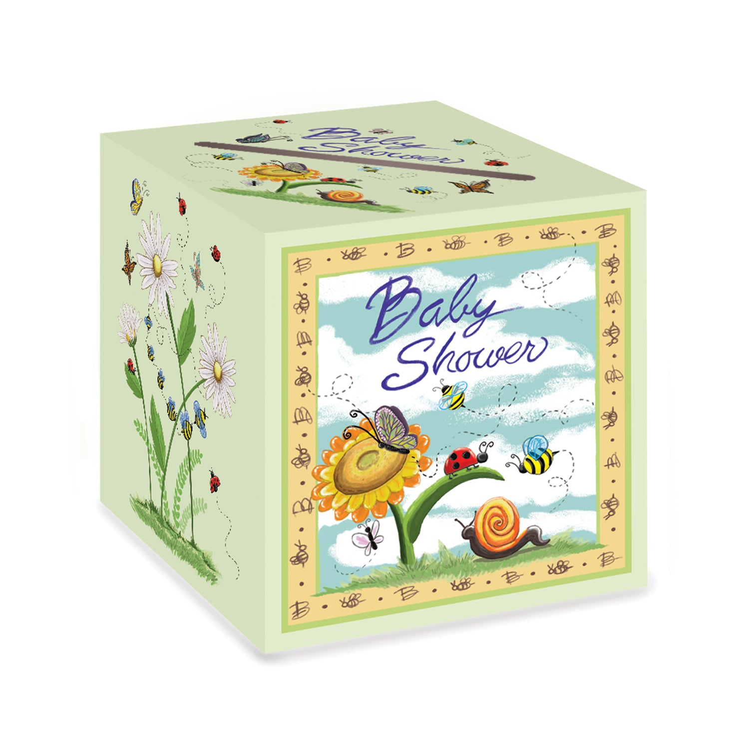 Baby Shower Card Box by Beistle - Baby Shower Theme Decorations