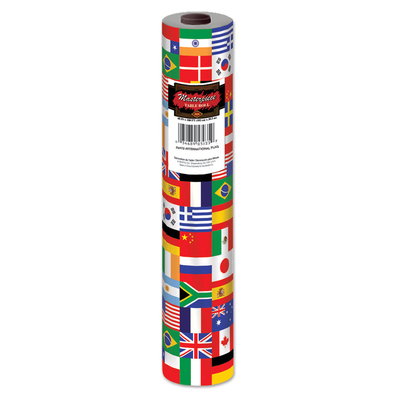 International FlagTable Roll by Beistle - International Theme Decorations