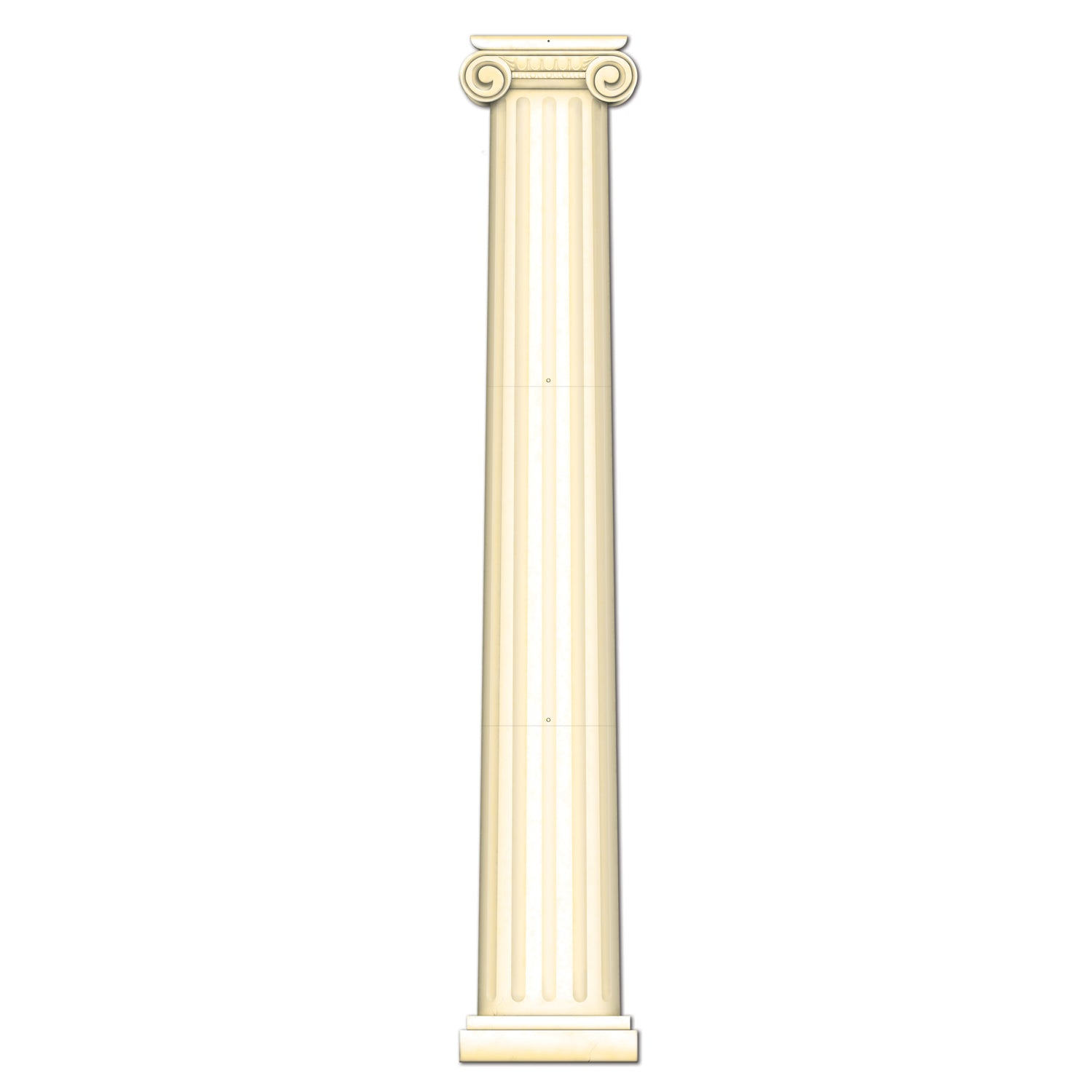 Jointed Column Pull-Down Cutout by Beistle - International Theme Decorations