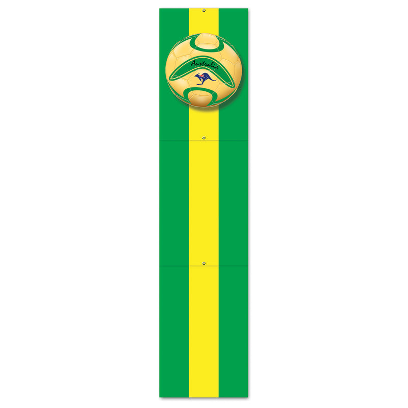 Jointed Pull-Down Cutout - Australia by Beistle - Soccer Theme Decorations