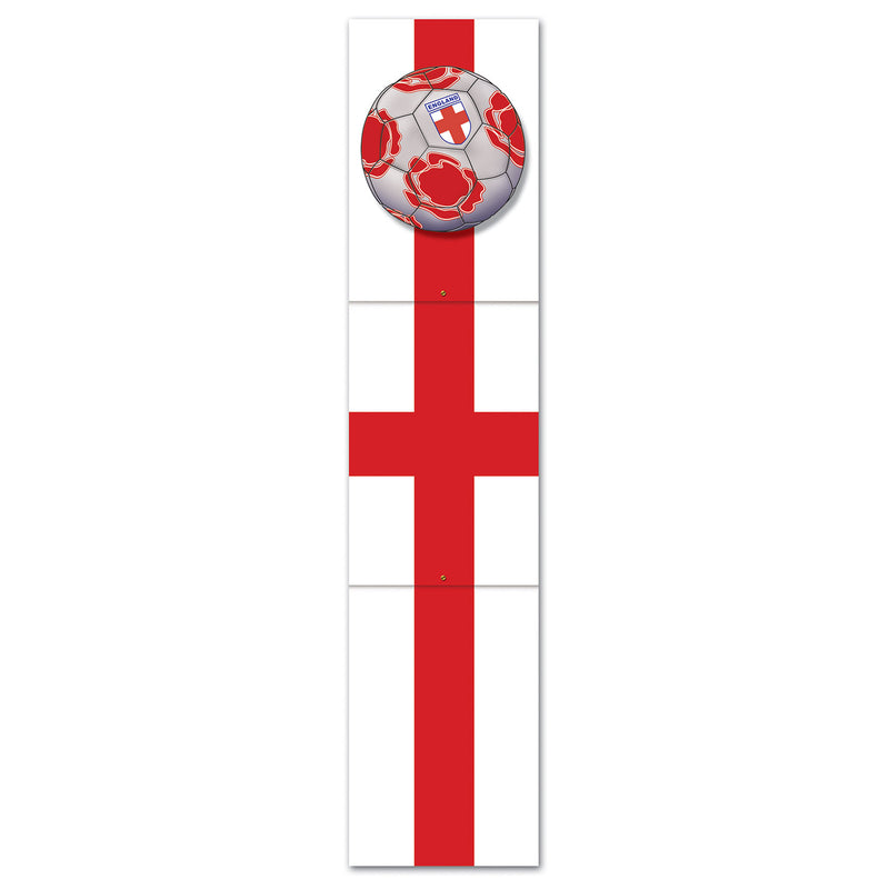 Jointed Pull-Down Cutout - England by Beistle - Soccer Theme Decorations
