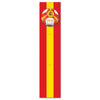 Jointed Pull-Down Cutout - Spain by Beistle - Soccer Theme Decorations
