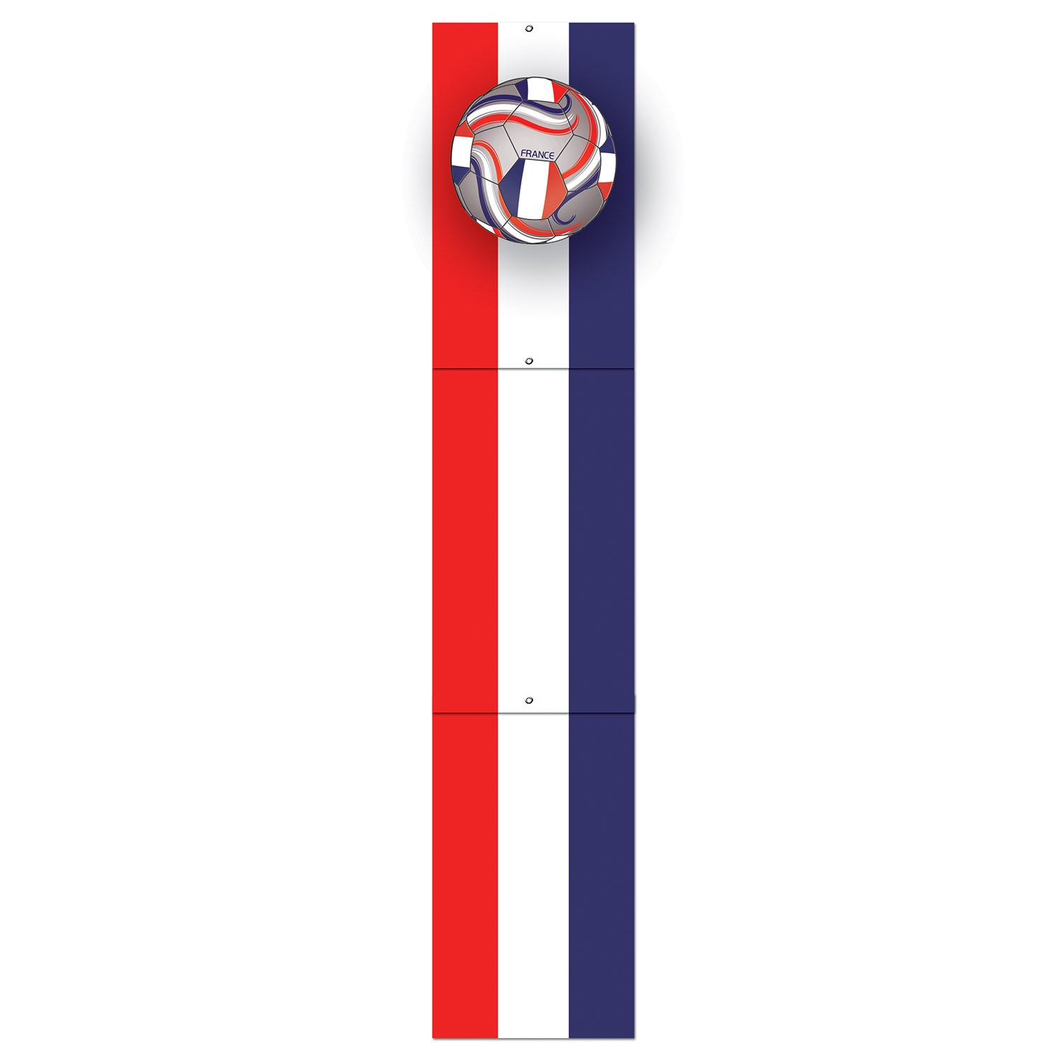 Jointed Pull-Down Cutout - France by Beistle - Soccer Theme Decorations