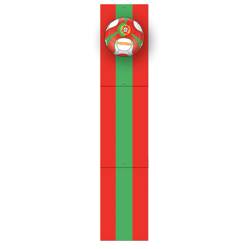 Jointed Pull-Down Cutout - Portugal by Beistle - Soccer Theme Decorations