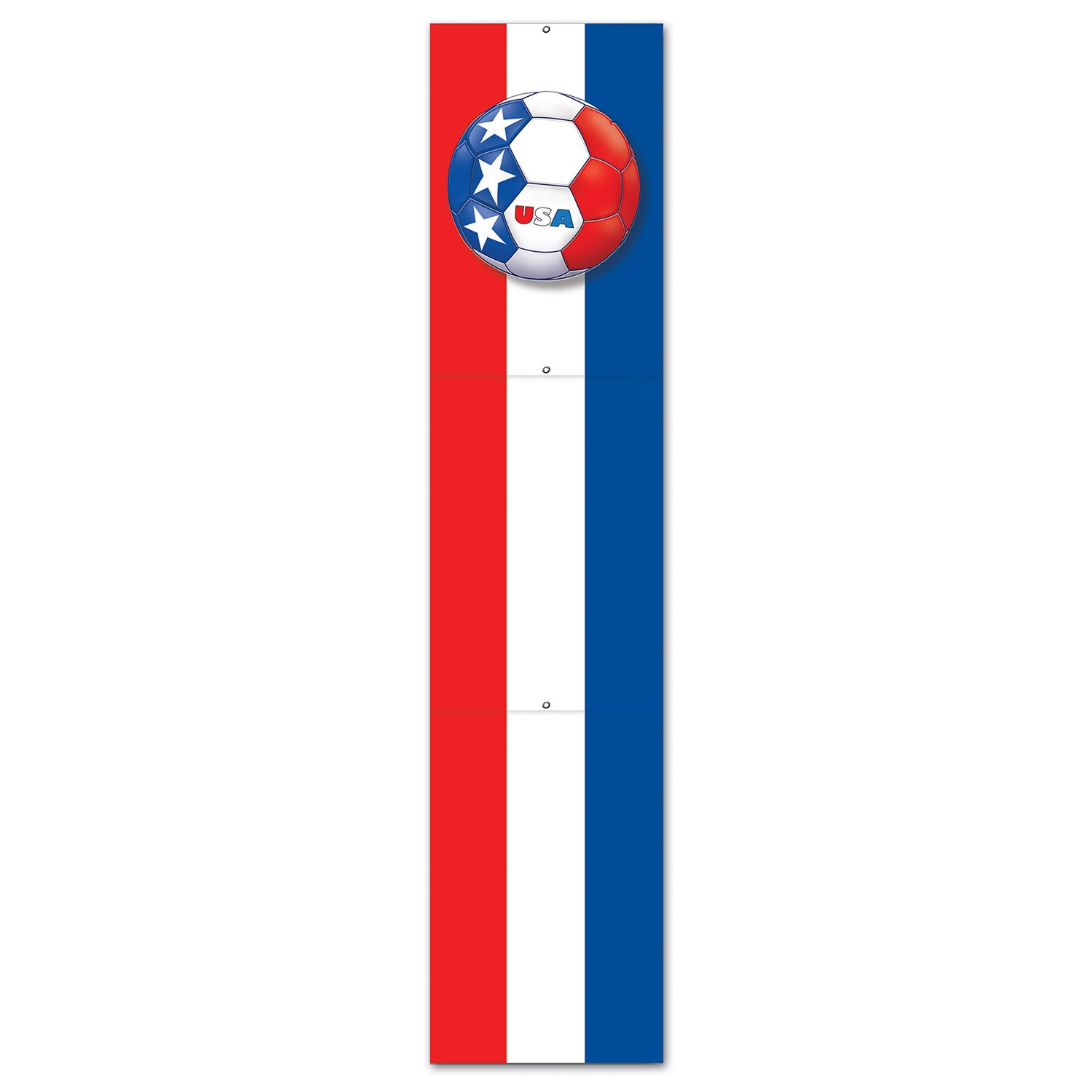 Jointed Pull-Down Cutout - United States by Beistle - Soccer Theme Decorations