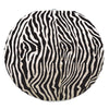 Zebra Print Paper Lanterns (3/Pkg), black & white by Beistle - Jungle Theme Decorations