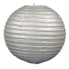 Paper Lanterns (3/Pkg) silver by Beistle - General Occasion Decorations