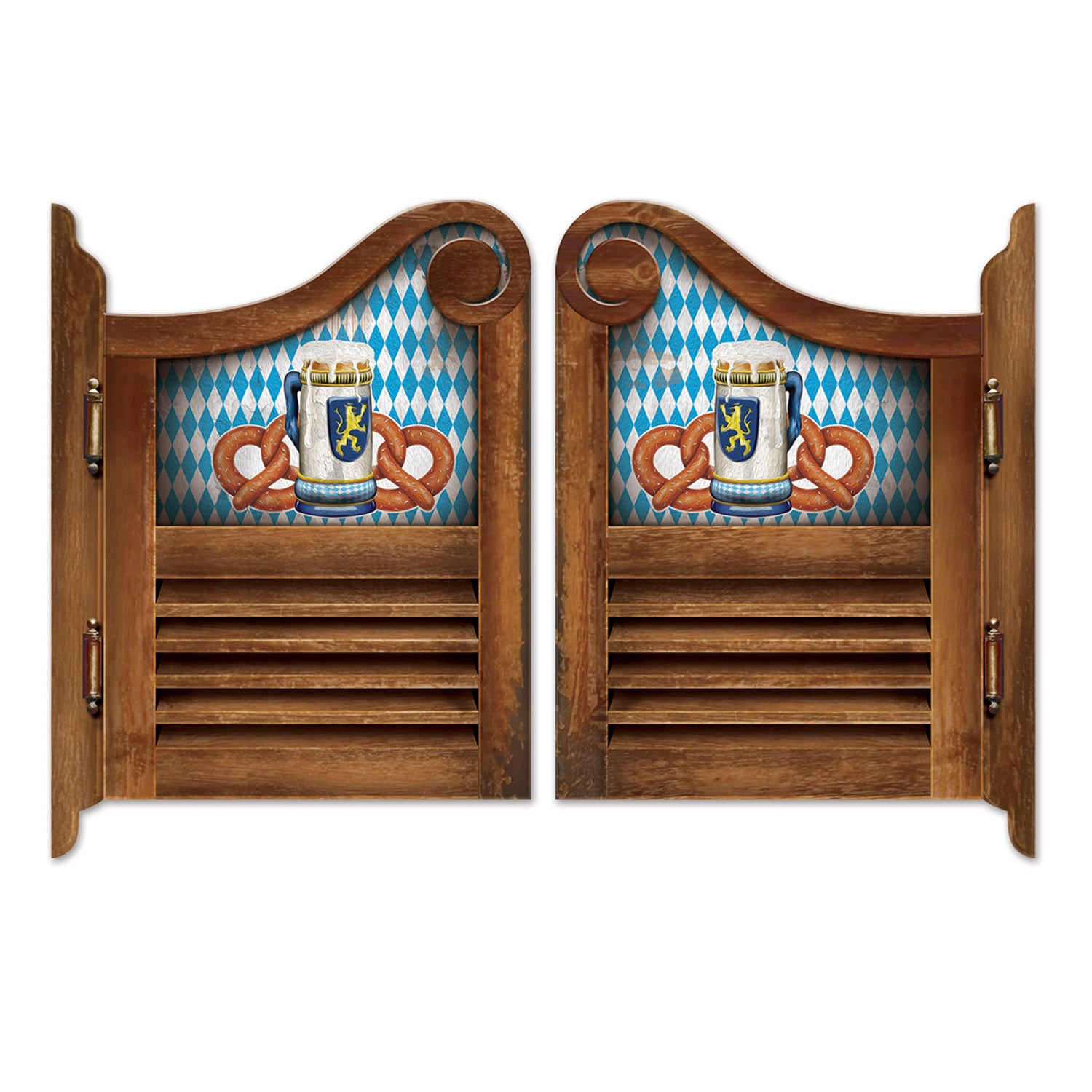 Oktoberfest Saloon Door Cutouts by Beistle - Oktoberfest Theme Decorations