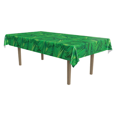 Palm Leaf Tablecover by Beistle - Luau Theme Decorations