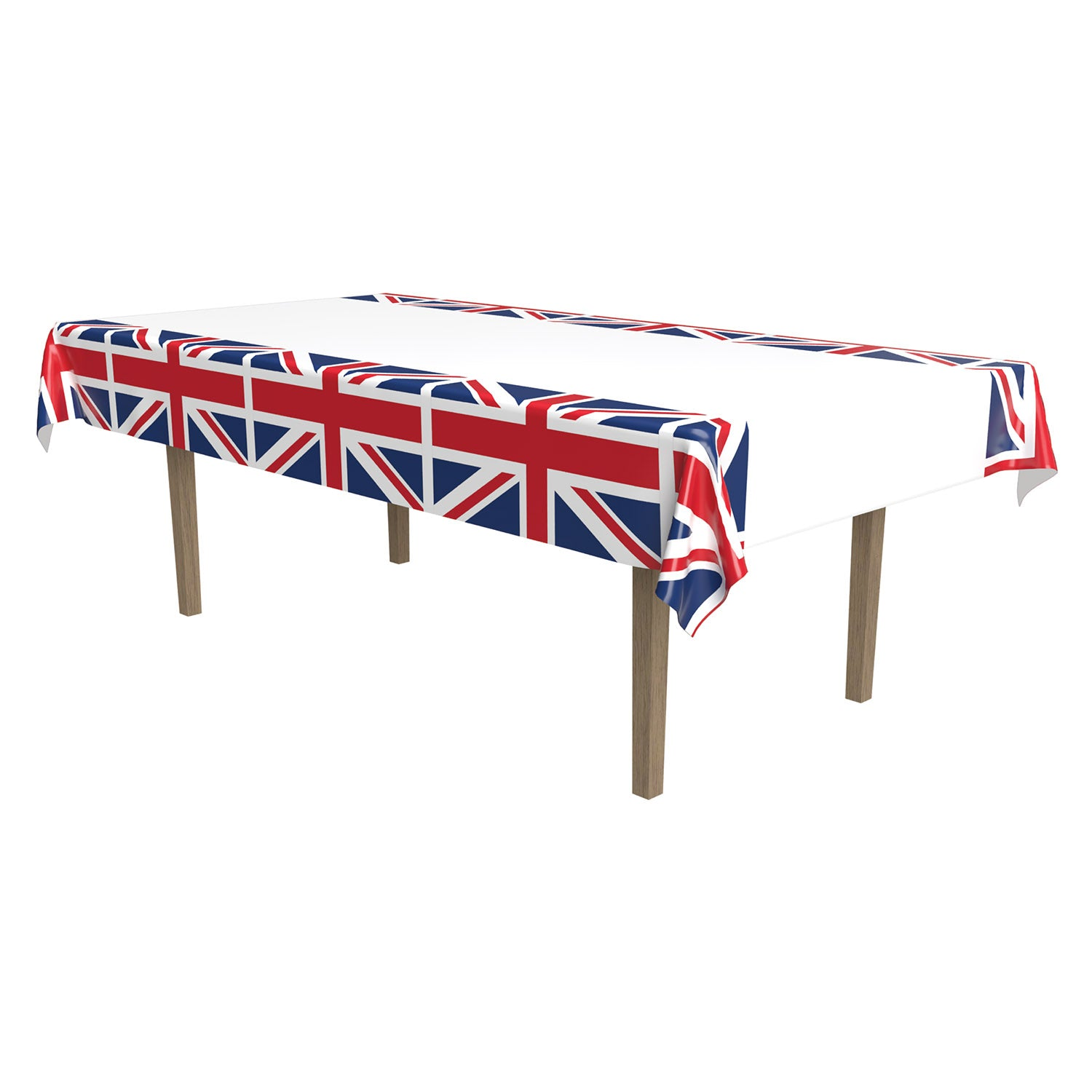 Union Jack Tablecover by Beistle - British Theme Decorations