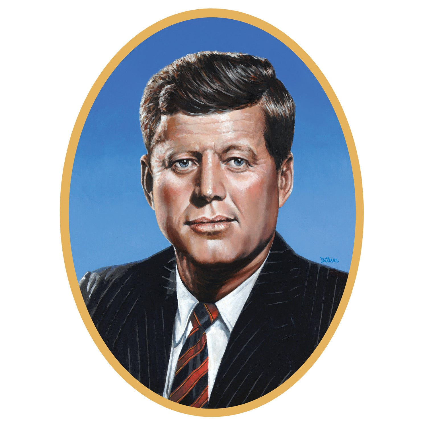 John F Kennedy Cutout by Beistle - School Awards and Supplies Decorations