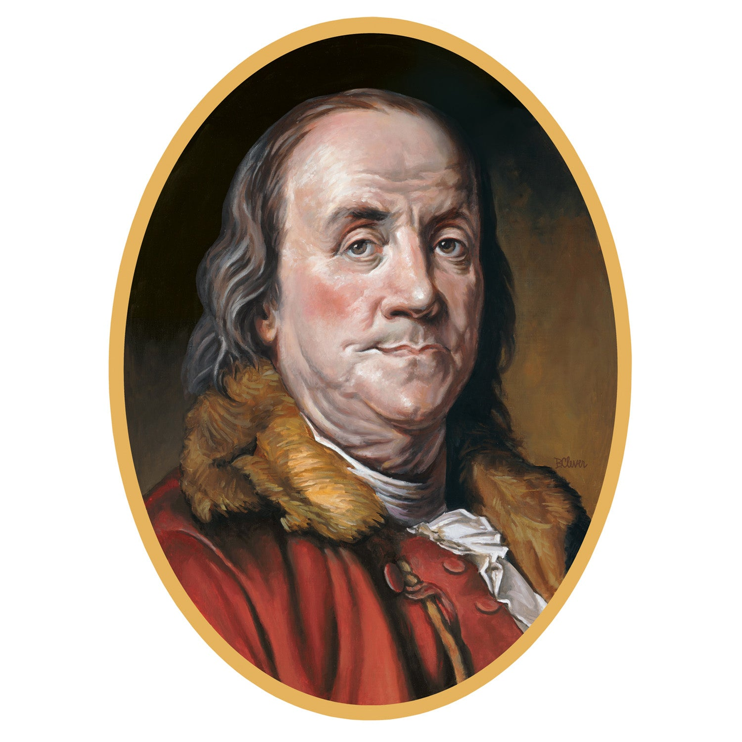 Ben Franklin Cutout by Beistle - School Awards and Supplies Decorations