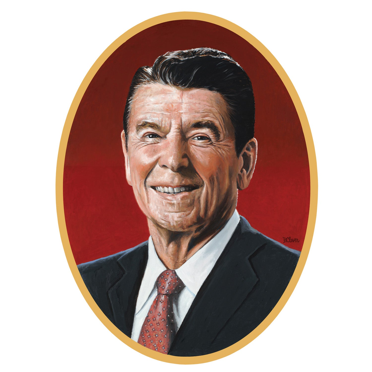 Reagan Cutout by Beistle - School Awards and Supplies Decorations