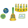 Father's Day King For A Day Kit (5/Pkg) by Beistle - Father's Day Theme Decorations