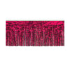 Packaged 1-Ply Metallic Fringe Drape, cerise by Beistle - General Occasion Decorations