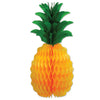Tissue Pineapple by Beistle - Luau Theme Decorations