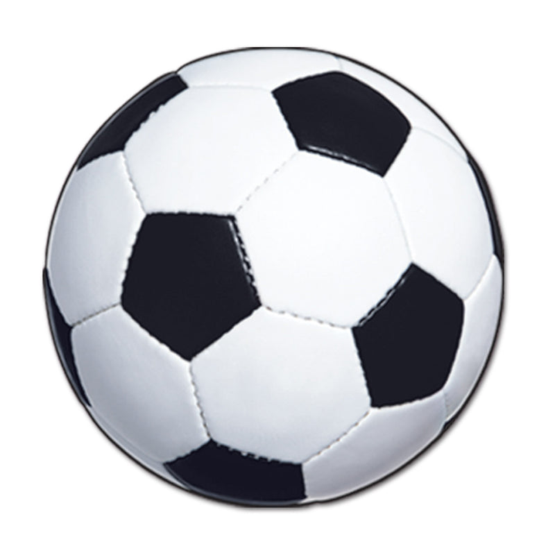 Soccer Ball Cutout by Beistle - Soccer Theme Decorations