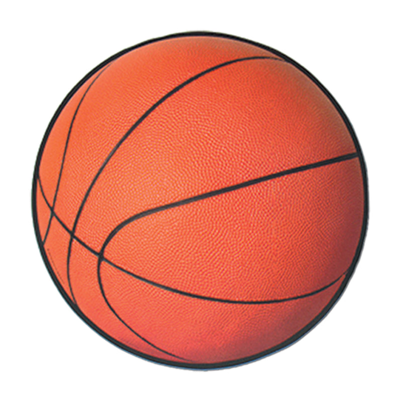 Basketball Cutout by Beistle - Basketball Theme Decorations
