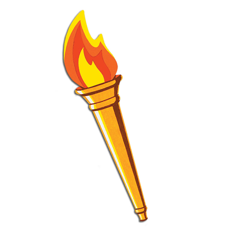 Torch Cutout by Beistle - Sports Theme Decorations
