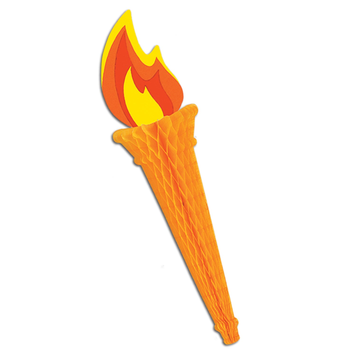 Tissue Torch by Beistle - Sports Theme Decorations