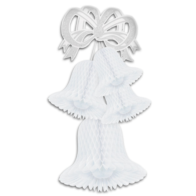 Tissue Bell Cluster by Beistle - Wedding Theme Decorations