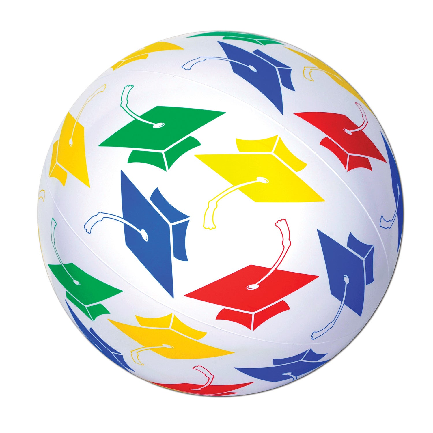Grad Beach Ball by Beistle - Graduation Theme Decorations