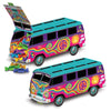 3-D 60's Bus Centerpiece by Beistle - 60's Theme Decorations