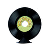 Personalize Plastic Record Centerpiece by Beistle - Music Theme Decorations