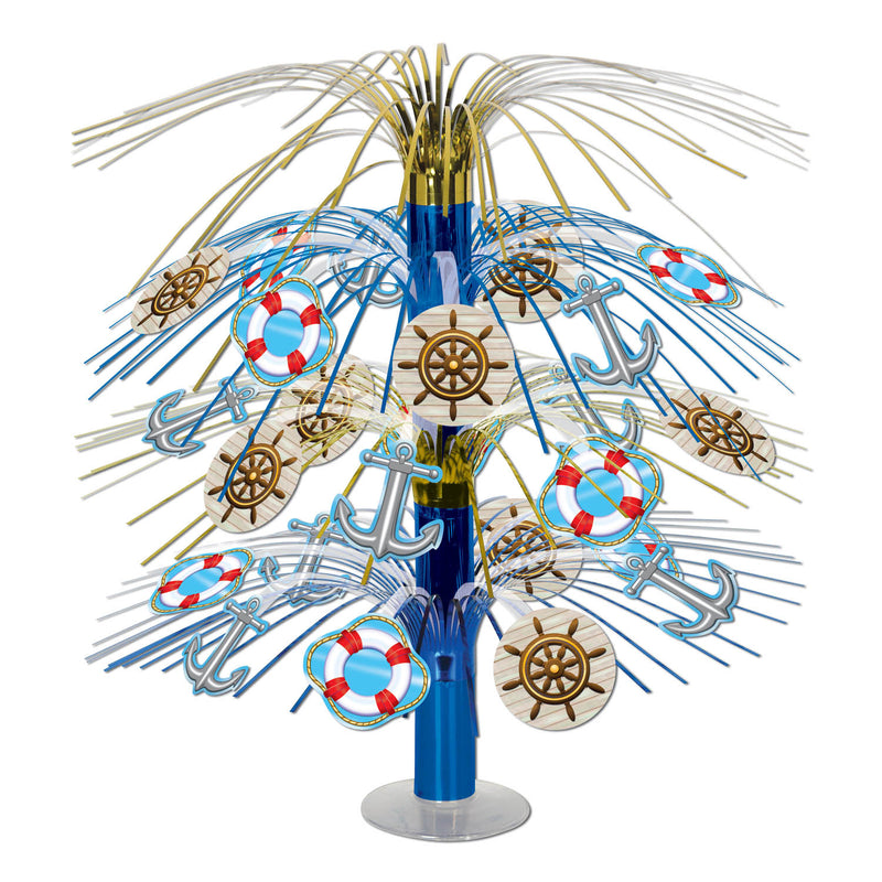 Nautical Cascade Centerpiece by Beistle - Nautical Theme Decorations