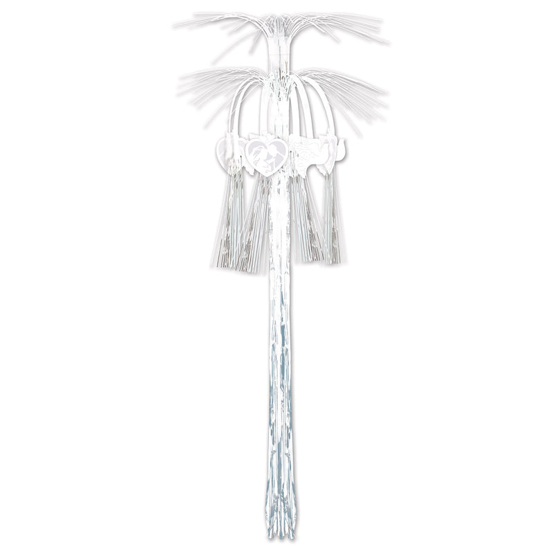 Wedding Cascade Hanging Column by Beistle - Wedding Theme Decorations