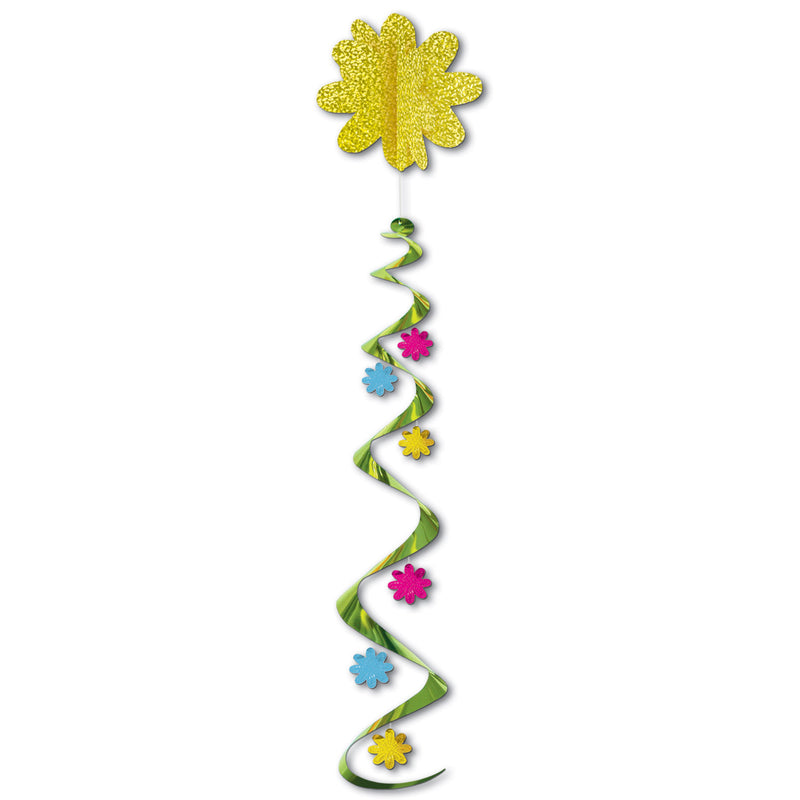 Jumbo Flower Whirl by Beistle - Spring/Summer Theme Decorations