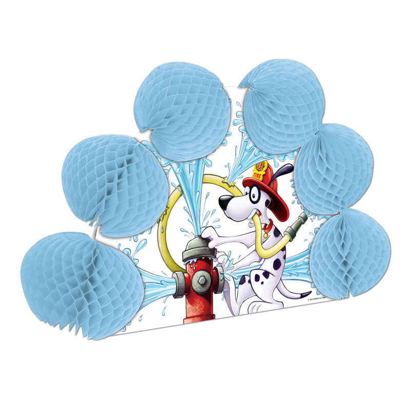 Dalmatian Pop-Over Centerpiece by Beistle - Fire Prevention Theme Decorations