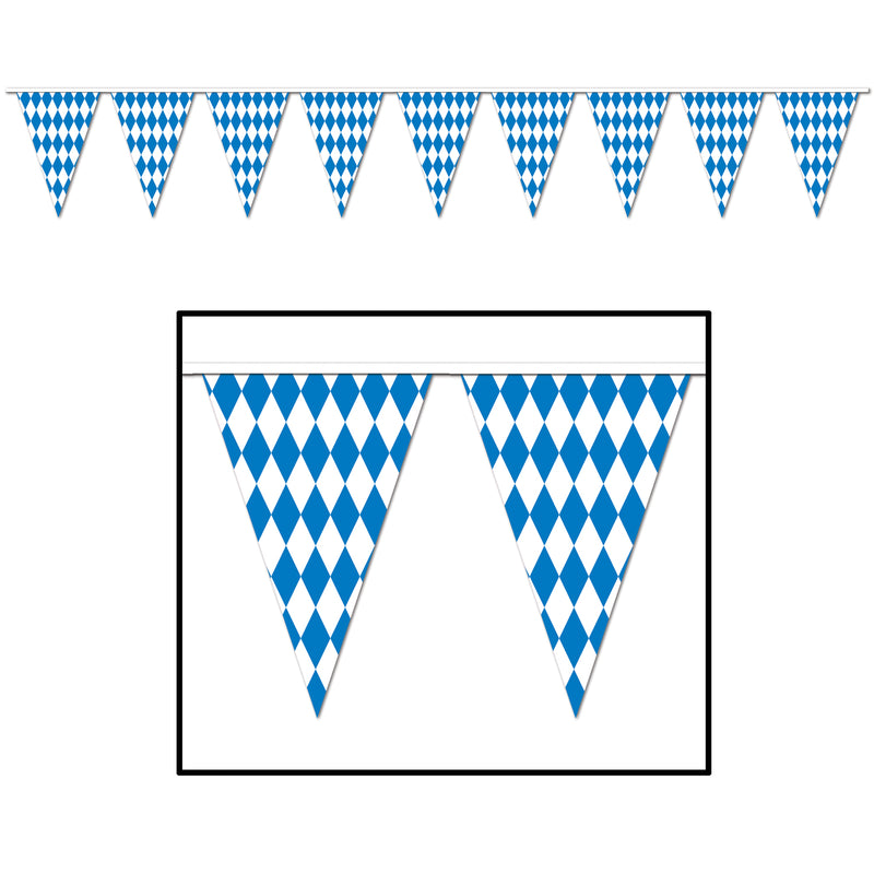 Oktoberfest Pennant Banner by Beistle - Oktoberfest Theme Decorations