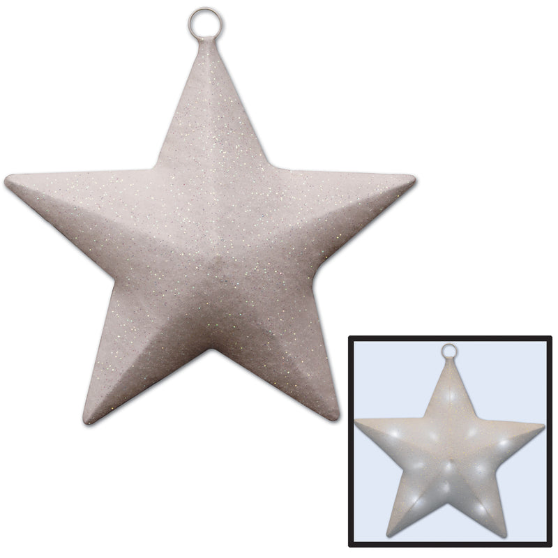 Light-Up Sparkle Star by Beistle - Awards Night Theme Decorations