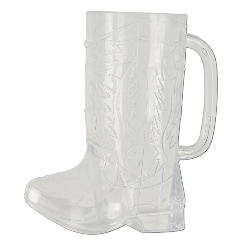 Plastic Cowboy Boot Mug by Beistle - Western Theme Decorations