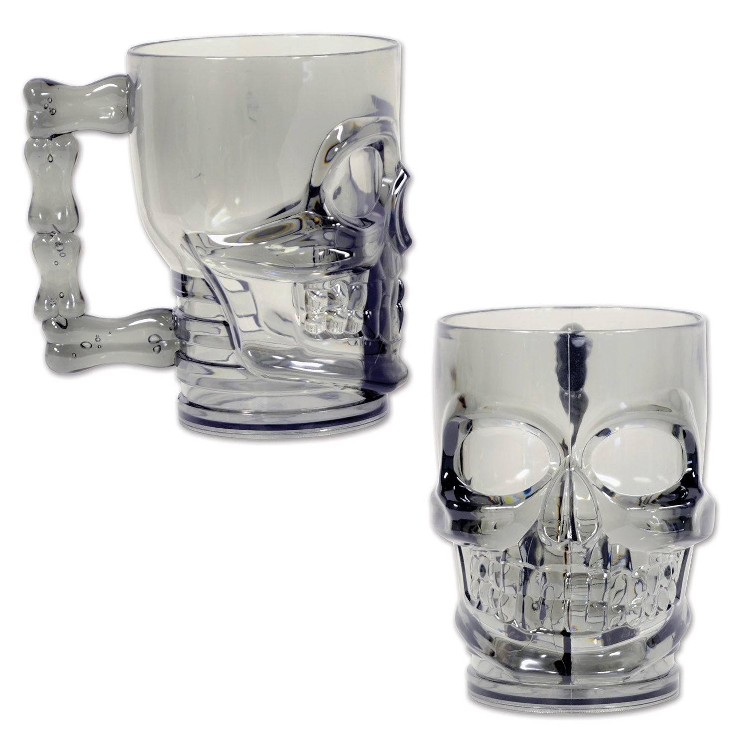 Plastic Skull Mug by Beistle - Pirate Theme Decorations