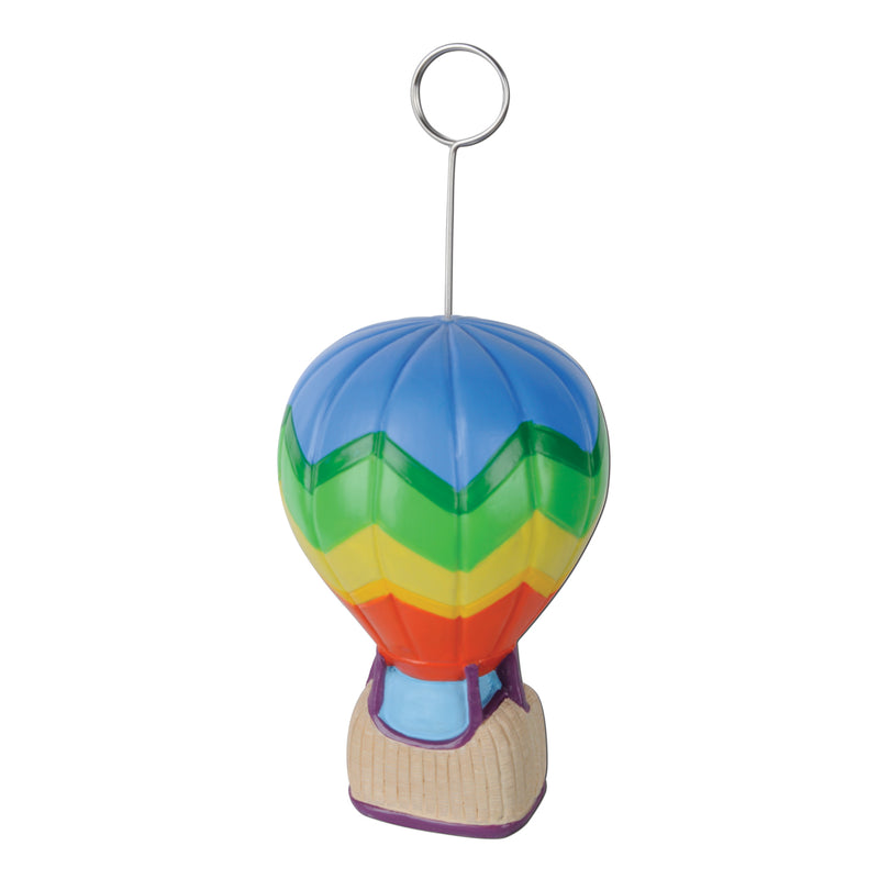 Hot Air Balloon Photo/Balloon Holder by Beistle - Spring/Summer Theme Decorations