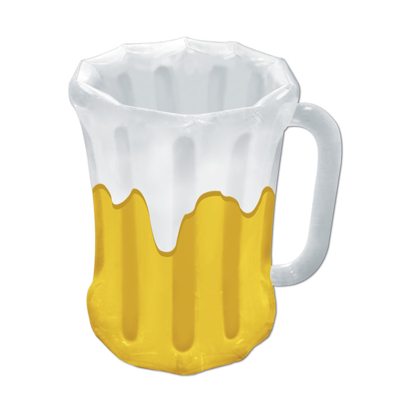 Inflatable Beer Mug Cooler by Beistle - Oktoberfest Theme Decorations