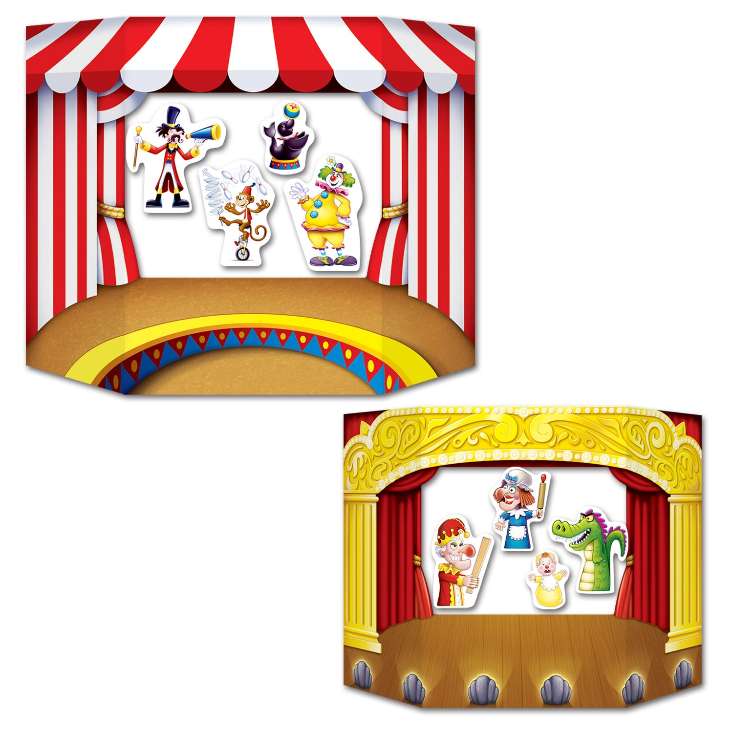 Puppet Show Theater Photo Prop by Beistle - Birthday Party Supplies Decorations